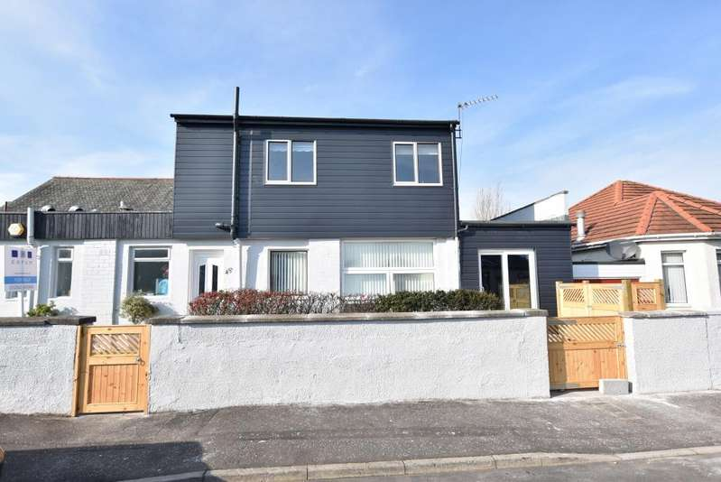 2 Bedrooms Semi-detached Villa House for sale in 45a Berelands Road, Prestwick, KA9 2JT