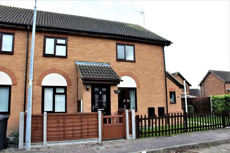 2 Bedrooms Terraced House for sale in Ramerick Gardens, Arlesey, SG15