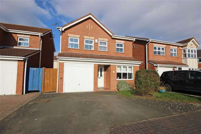 3 Bedrooms Detached House for sale in Tybalt Close, Warwick, Warwick, CV34