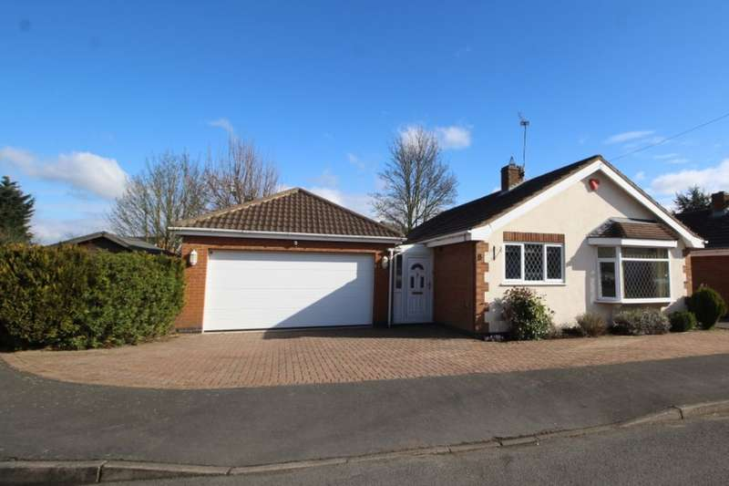 3 Bedrooms Detached Bungalow for sale in Holly Close, Burbage, Hinckley, LE10