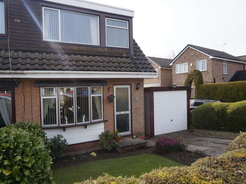 3 Bedrooms Semi Detached House for rent in Crescent Walk, Clayton