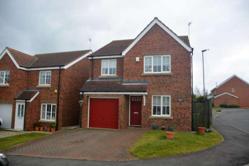 4 Bedrooms Detached House for sale in Meadowfield, Burnhope, Co Durham DH7