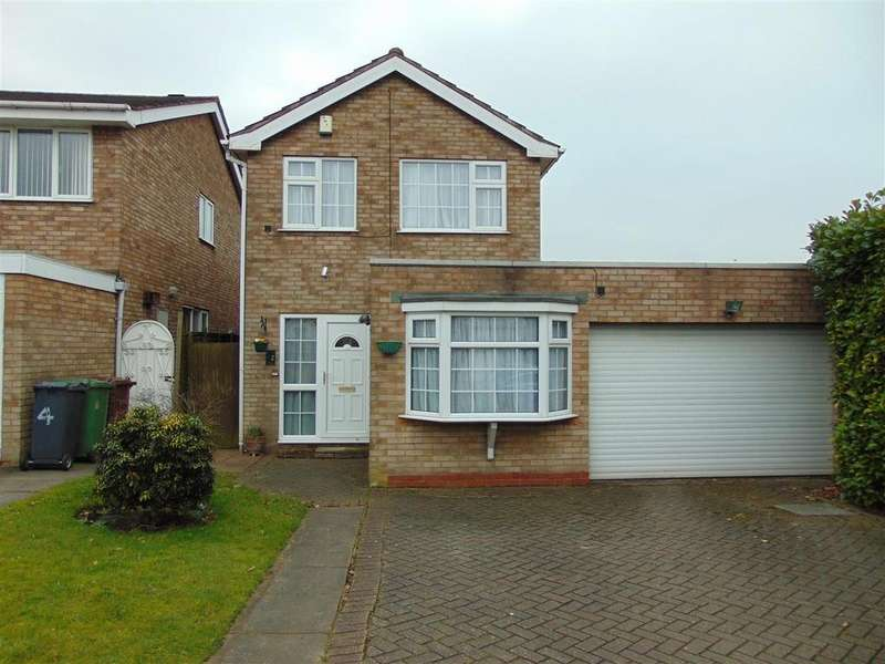 3 Bedrooms Detached House for sale in Parkstone Close, Shelfield