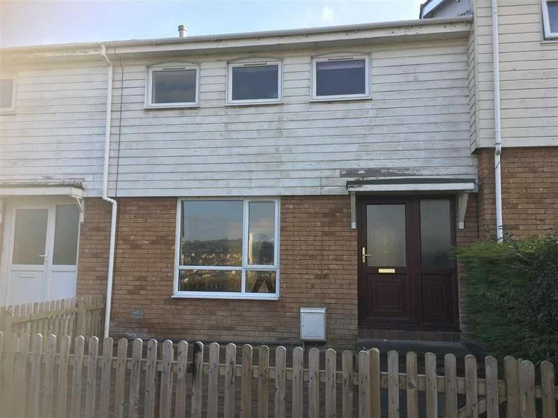 3 Bedrooms Terraced House for rent in 33, Cledan, Treowen, Newtown, Powys, SY16