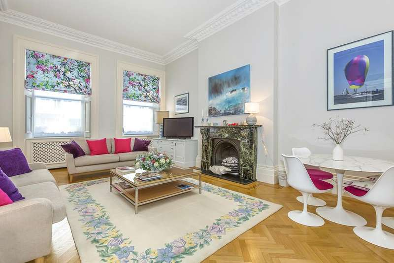 1 Bedroom Ground Flat for sale in Queen's Gate Terrace, London. SW7