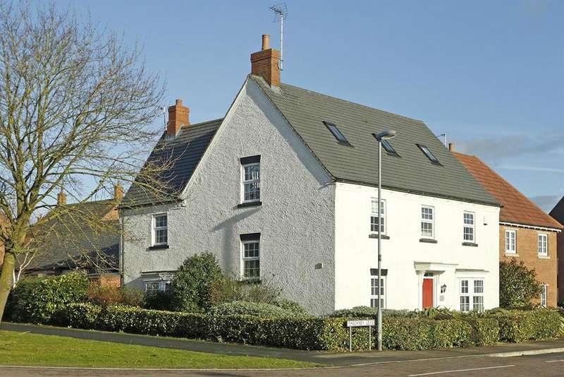 6 Bedrooms Detached House for sale in Thackney Leys, Kibworth Harcourt