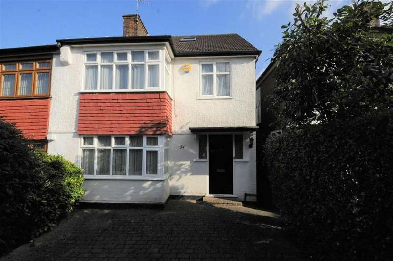 4 Bedrooms Semi Detached House for sale in Monks Avenue, New Barnet, Herts, EN5
