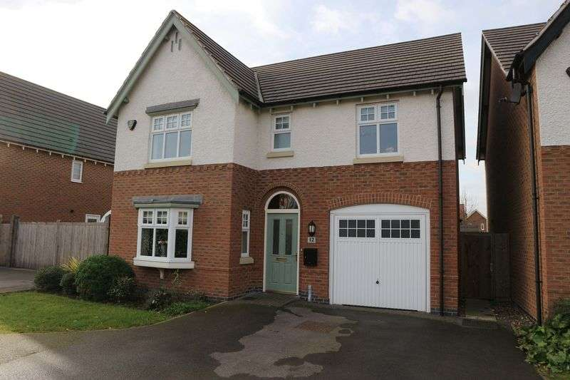 4 Bedrooms Property for sale in Speedway Close, Nottingham