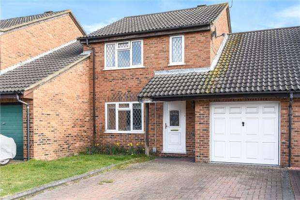 4 Bedrooms Link Detached House for sale in Elveden Close, Lower Earley, Reading