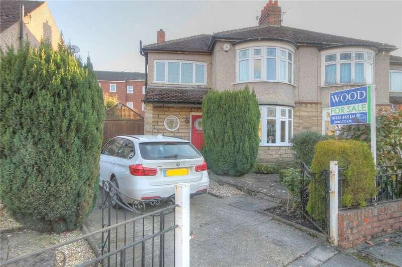3 Bedrooms Semi Detached House for sale in Stonedale Crescent, Darlington, Co Durham, DL3