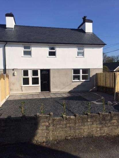3 Bedrooms Semi Detached House for sale in Glanerch, Abererch, Pwllheli, Gwynedd, LL53