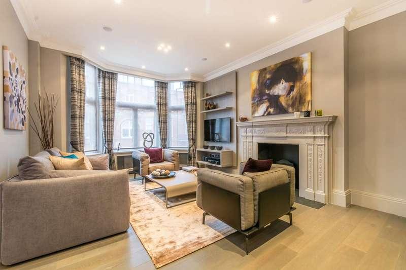 3 Bedrooms Flat for rent in Montagu Mansions, Portman Estate, W1U