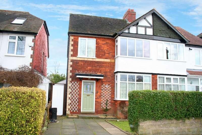 3 Bedrooms Semi Detached House for rent in Brandwood Road, Kings Heath, Birmingham, B14