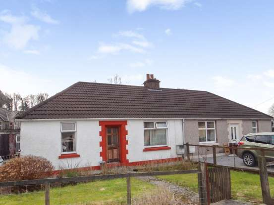 2 Bedrooms Semi Detached Bungalow for sale in Stewart Of Garlies, Newton Stewart, Wigtownshire, DG8 6PP