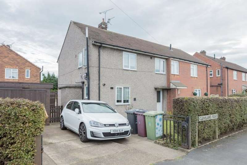 3 Bedrooms Semi Detached House for sale in Cleveland road, Stonebroom, Derbyshire, DE55