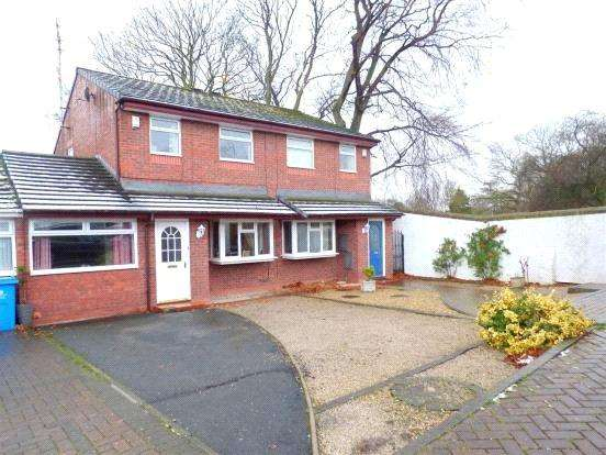 3 Bedrooms Semi Detached House for sale in Oakwood Drive, Liverpool, Merseyside, L36