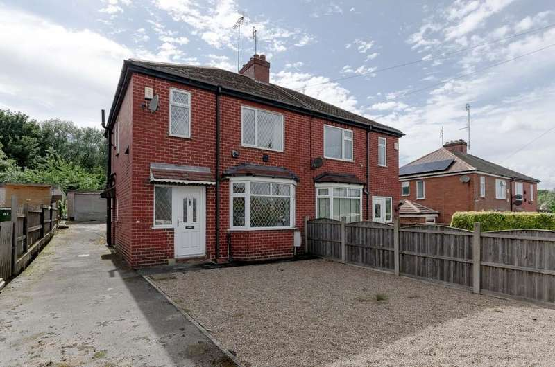 3 Bedrooms Semi Detached House for sale in Spittal Hardwick Lane, Pontefract