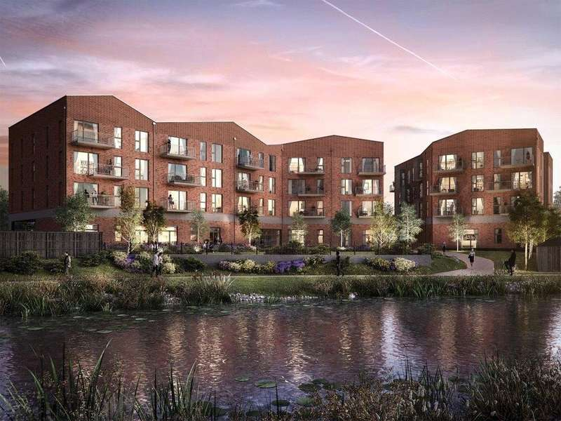 2 Bedrooms Flat for sale in The Jessop, Trinity Quarter, Walnut Tree Close, Guildford, GU1