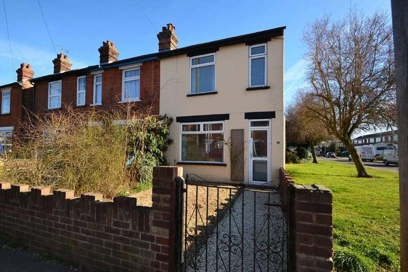 3 Bedrooms End Of Terrace House for sale in Britannia Road, Ipswich, IP4 5HE