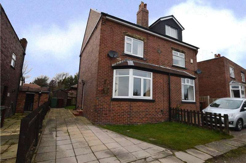 2 Bedrooms Semi Detached House for sale in West Wells Crescent, Ossett, West Yorkshire