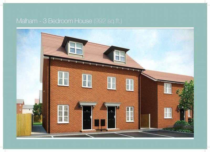 3 Bedrooms Semi Detached House for sale in PLOT 105 MALHAM PHASE 3, Navigation Point, Cinder Lane, Castleford