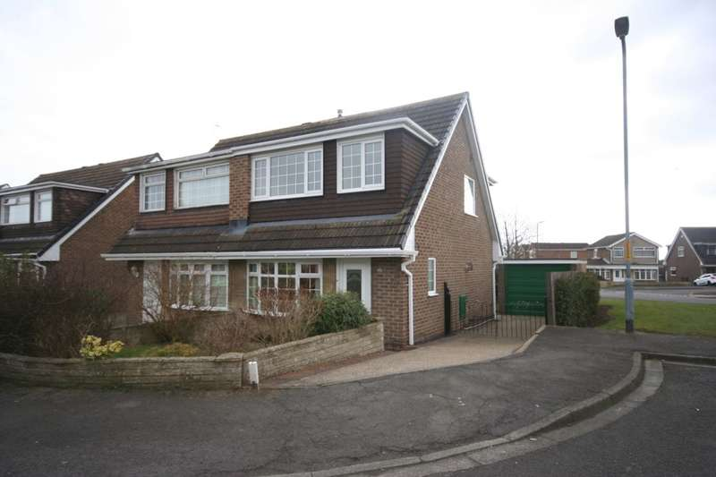 3 Bedrooms Semi Detached House for sale in Kirkwall Close, Stockton-On-Tees, TS19