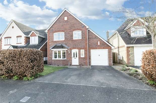 4 Bedrooms Detached House for sale in Damson Crescent, Fair Oak, EASTLEIGH, Hampshire