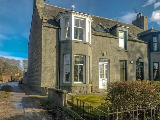 3 Bedrooms Semi Detached House for sale in Montgarrie, Alford, Aberdeenshire