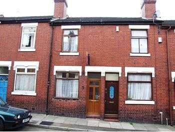 2 Bedrooms Terraced House for sale in Clare Street, Basford, Stoke on Trent