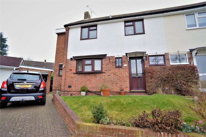 3 Bedrooms Semi Detached House for sale in Cobtree Close, Chatham, Kent, ME5