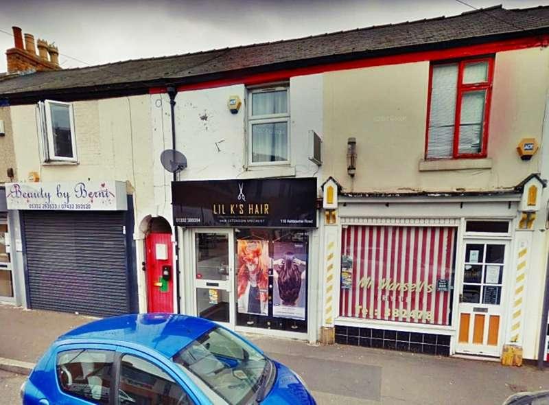 1 Bedroom Commercial Property for rent in Ashbourne Road, Derby