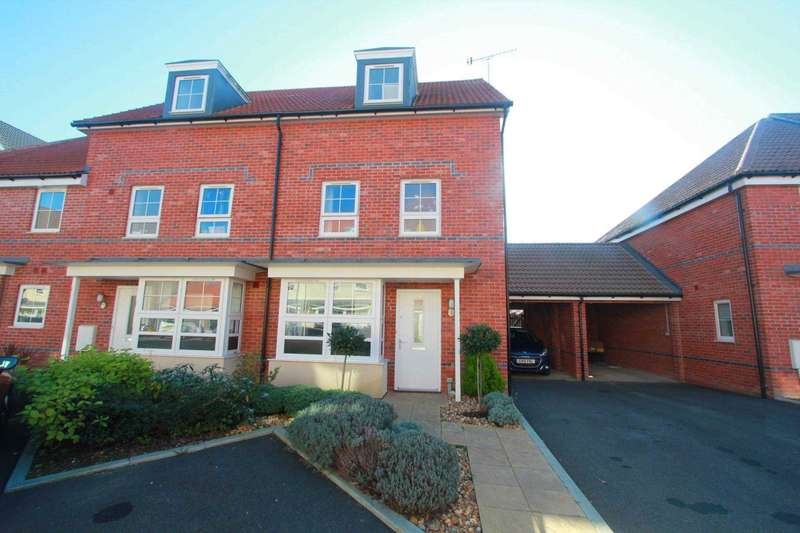 4 Bedrooms End Of Terrace House for sale in Overton Road, Worthing