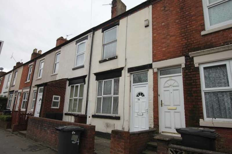3 Bedrooms Terraced House for sale in 24 Newhampton Road West, Wolverhampton, WV6 0RY