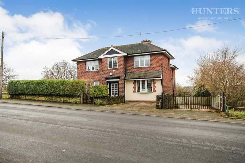 3 Bedrooms Detached House for sale in Whitfield Road, Stoke-on-Trent, ST6 8AH