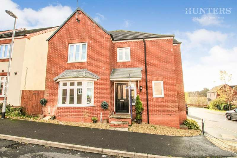 4 Bedrooms Detached House for sale in Burtree Drive, Stoke-on-Trent, ST6 8GZ