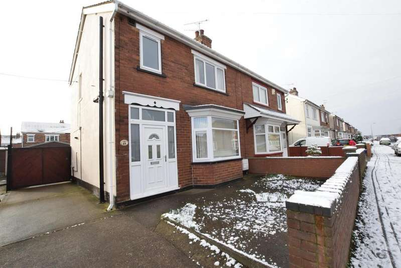 3 Bedrooms Semi Detached House for sale in Abbey Road, Scunthorpe, DN17 1JW