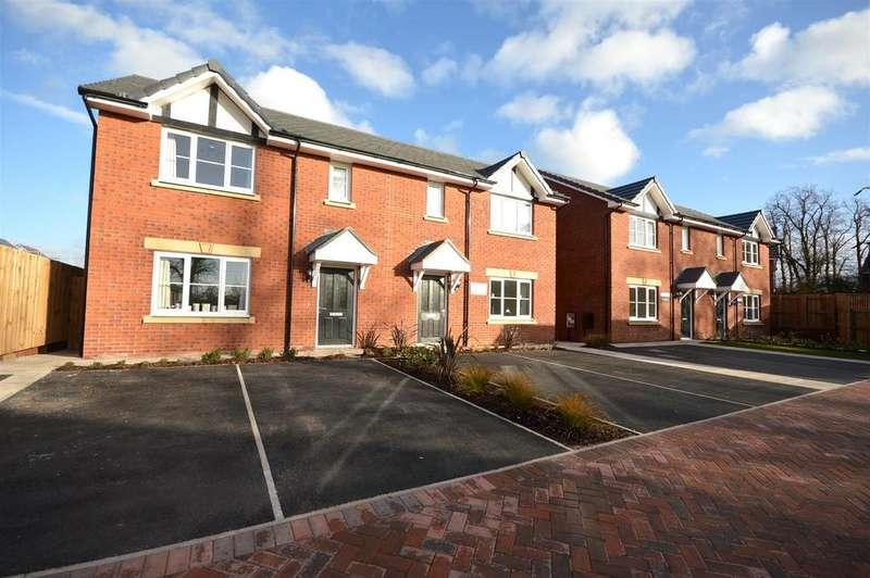 3 Bedrooms Semi Detached House for sale in Winterley Gardens, Crewe Road, Winterley