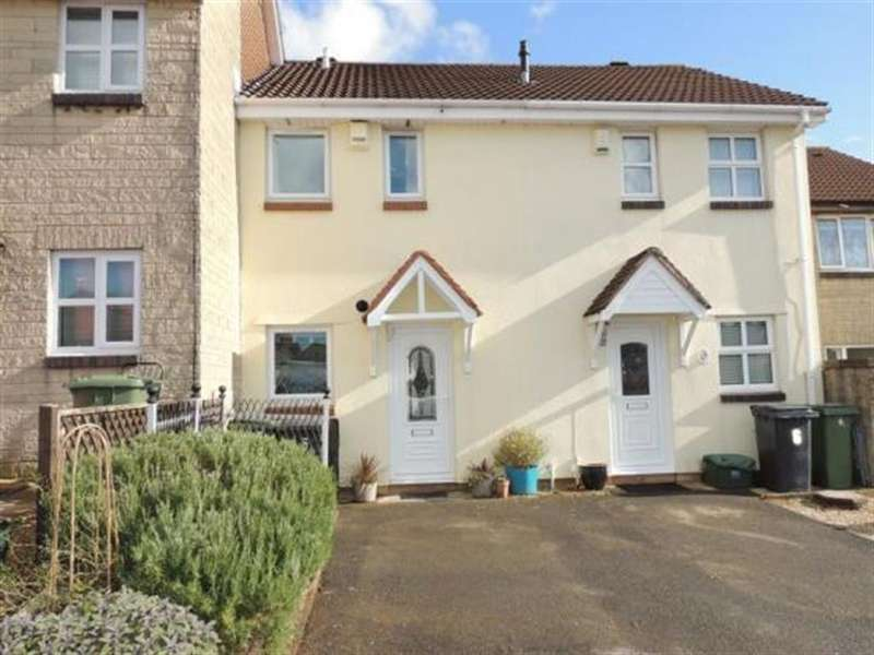2 Bedrooms Terraced House for sale in Kennmoor Close, Bristol, BS30 8BD