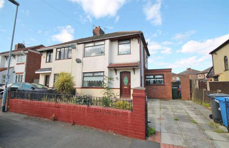 3 Bedrooms Semi Detached House for sale in Nicholas Road, Widnes, WA8 8ST