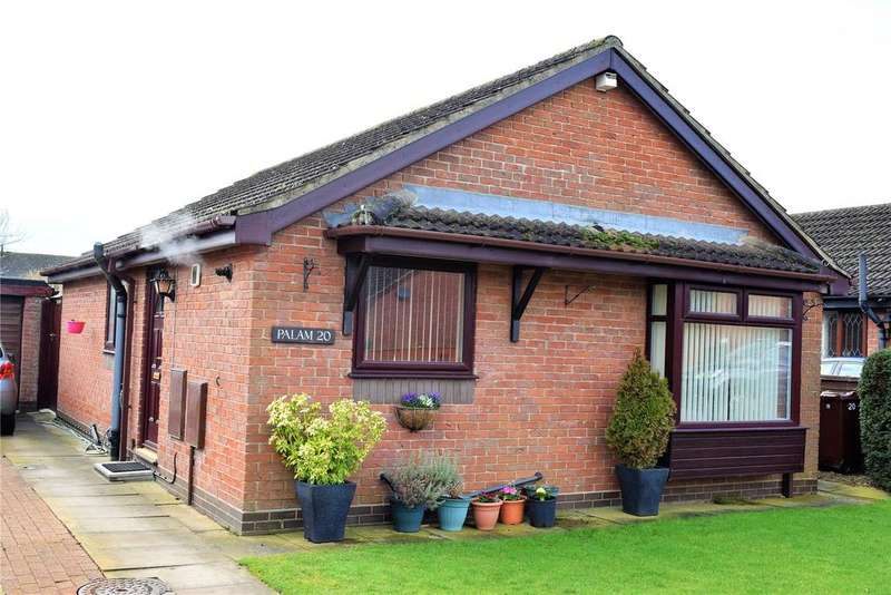 2 Bedrooms Detached Bungalow for sale in Old School Drive, Hibaldstow, Brigg, North Lincolnshire, DN20