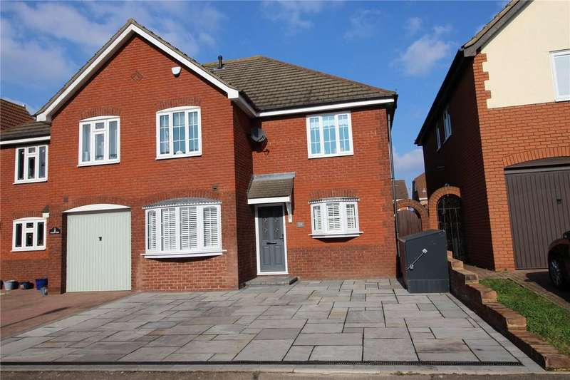 4 Bedrooms Semi Detached House for sale in Tylers Crescent, Hornchurch, RM12