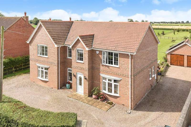 4 Bedrooms Detached House for sale in West Willows, Halton Fenside, Halton Holegate PE23 5BD