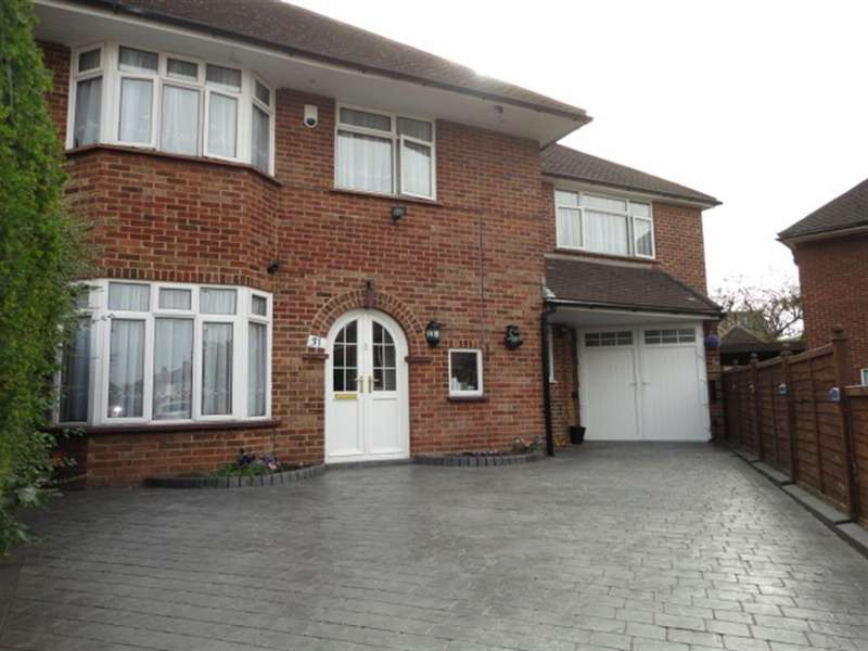 4 Bedrooms Semi Detached House for sale in The Glen, Slough, Berkshire, SL3 7HP
