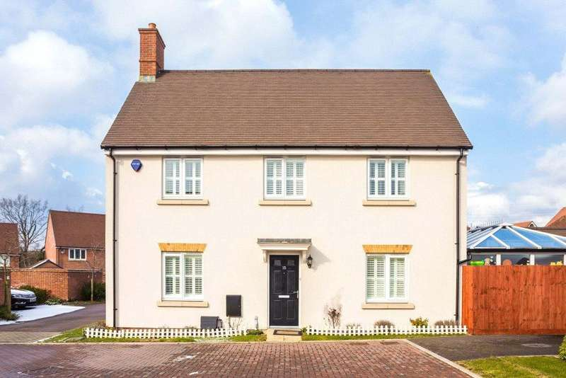 3 Bedrooms Detached House for sale in Wright Close, Bushey, Hertfordshire, WD23