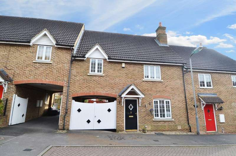 4 Bedrooms Terraced House for sale in Old Papermill Close, Wooburn Green, HP10