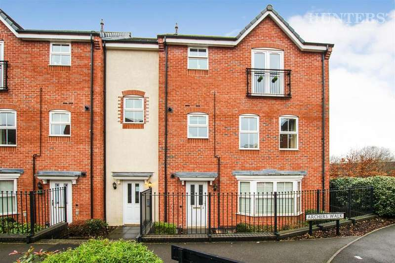 2 Bedrooms Apartment Flat for sale in Archers Walk, Trent Vale, Stoke-On-Trent, ST4 6JT