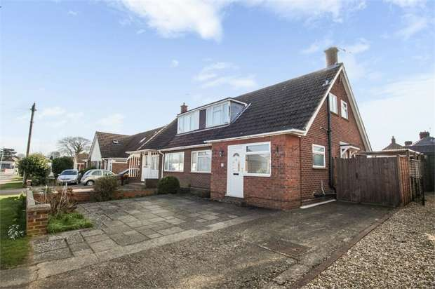 3 Bedrooms Semi Detached House for sale in Wellingham Avenue, Hitchin, Hertfordshire