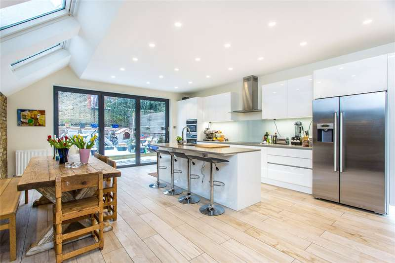 5 Bedrooms Terraced House for sale in Sedlescombe Road, Fulham, London, SW6