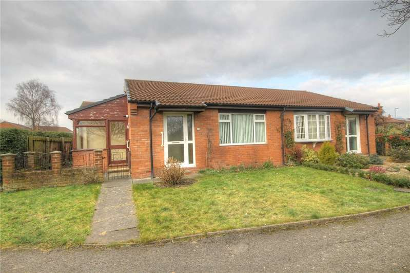 2 Bedrooms Semi Detached Bungalow for sale in Foxton Close, Newton Aycliffe, Durham, DL5