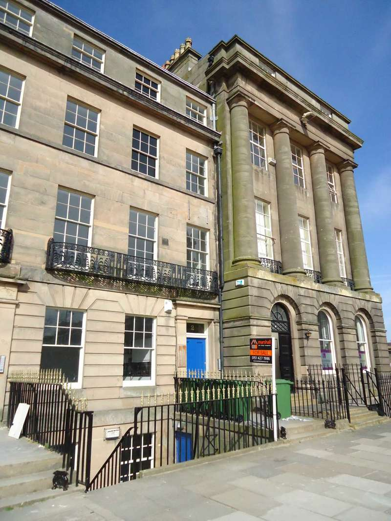 2 Bedrooms Apartment Flat for sale in Hamilton Square, Birkenhead